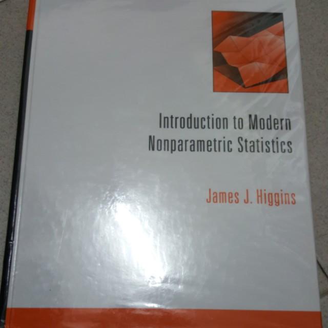 ST4232 Intro to Modern nonparametric statistics, Books