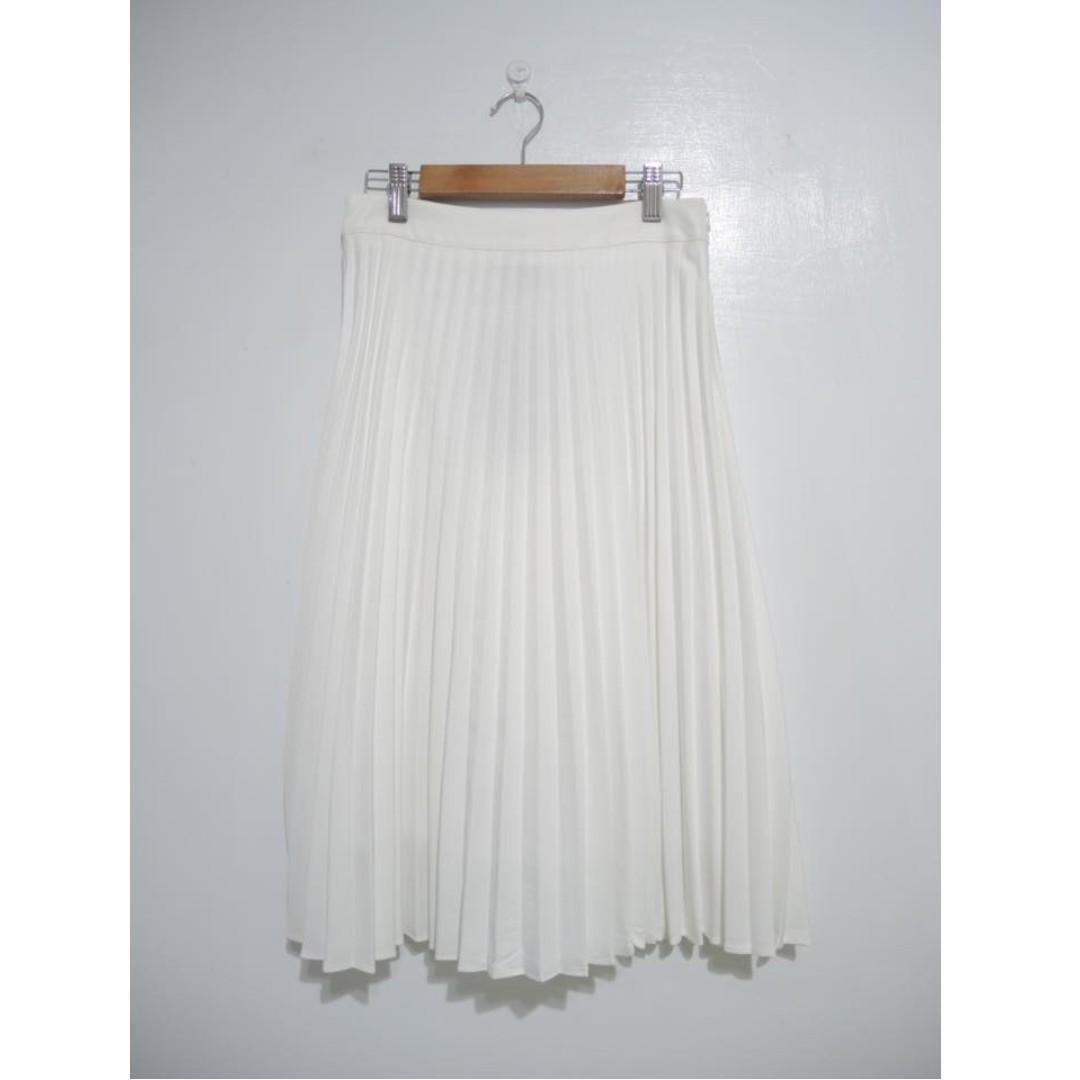 (私)轉賣STARMIMI白色百褶裙