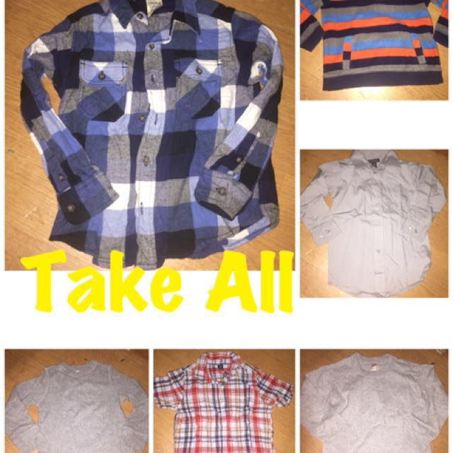take all branded polo/longsleeves