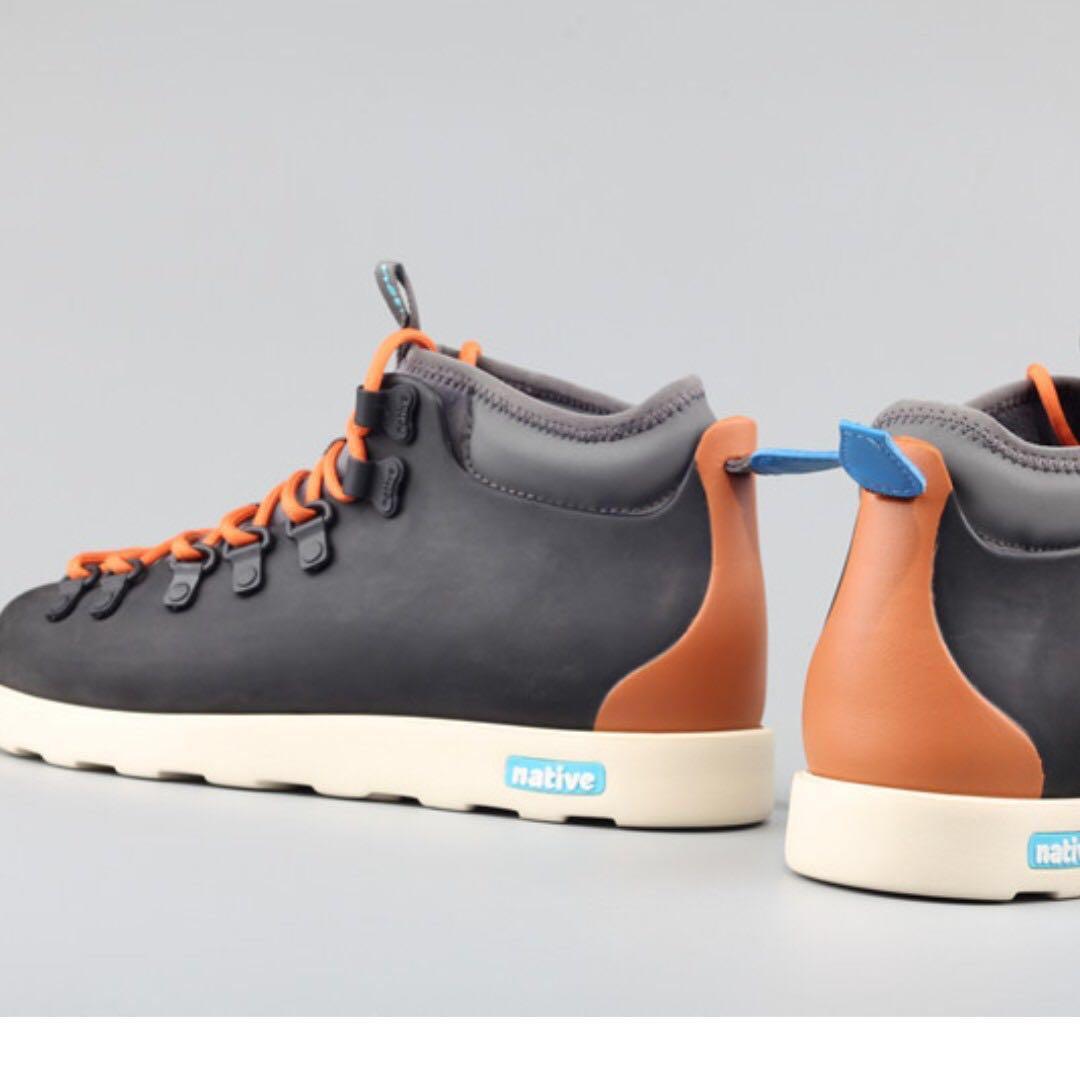 Tania 全正品 超輕量 Native shoes fitzsimmons 男女休閒鞋靴 登山鞋雪地靴 尺碼買錯>.< 全新喔 UK5 EUR39 CM25 定價2000$以上