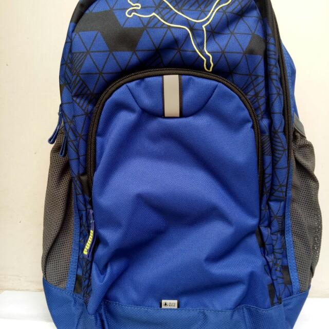 d8e80204ab7 Tas Backpack -Puma Keren Ada Reflektor nya- Baru & Original on Carousell