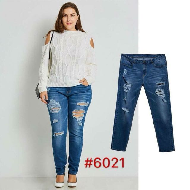Tattered Jeans 28-38