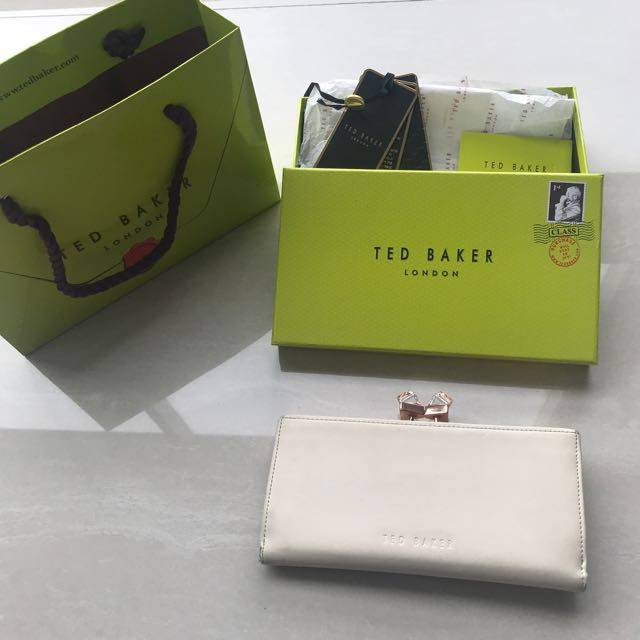 Ted Baker Crystal Popper Matine Purse