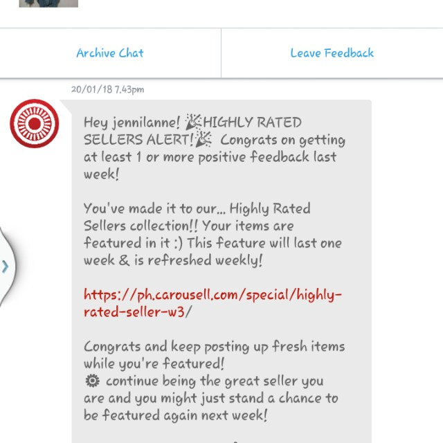 Thank you so much Carousell ♥