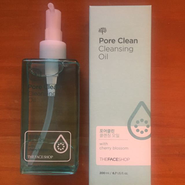 The Face Shop Pore Clean Cleansing Oil