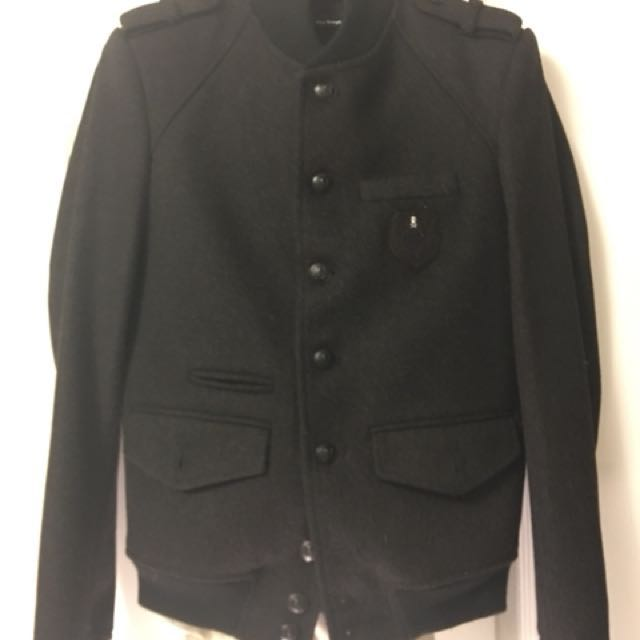 The Kooples Wool Bomber Jacket Size S