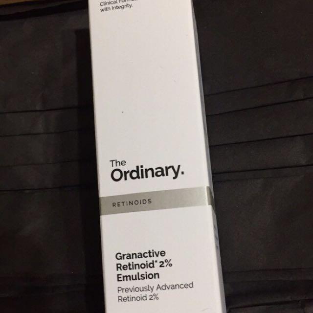 The ordinary Granactive Retinoid 2% 視黃醇2% 可溶性維他命A醇衍生物