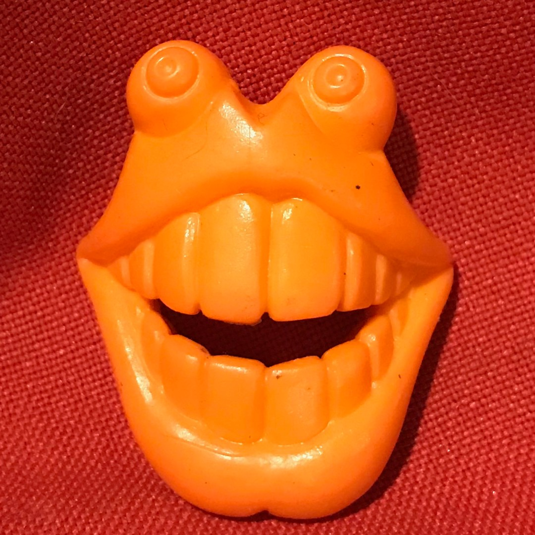 The Real Ghostbusters ECTO PLAZM Yellow Big Mouth Ghost