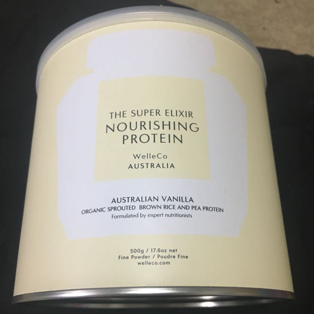 The Super ELIXIR vegan protein