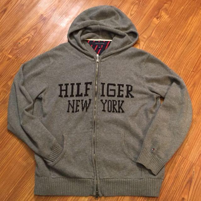 Tommy Hilfigher New York Zip Up Sweater