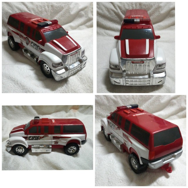 Tonka Fire Rescue Force MPV / Car With Lights & Sounds
