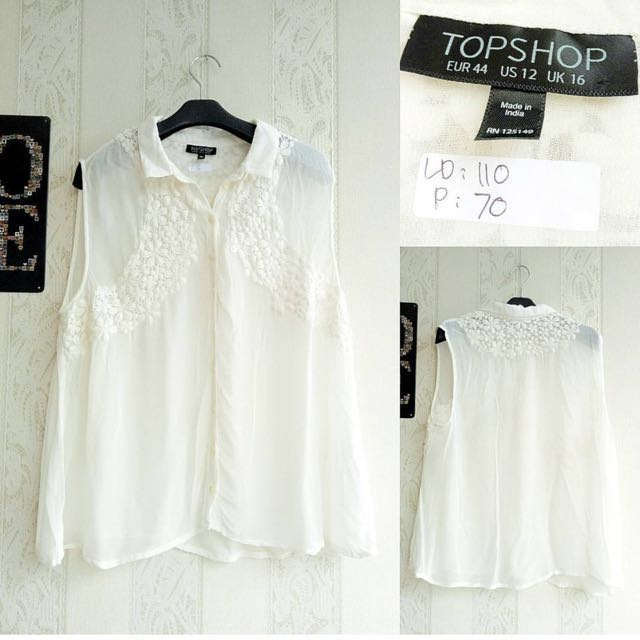 Top Shop White