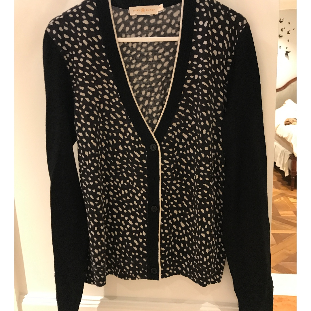 Tory Burch Cotton Cardigan Size S/P