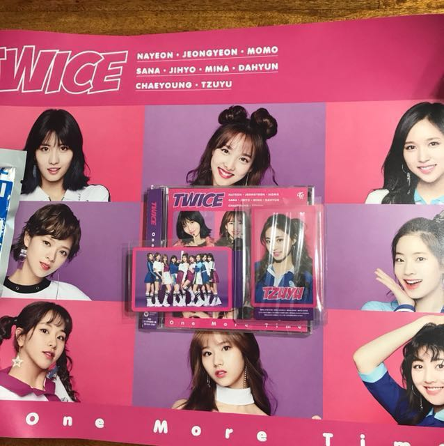 Twice One More Time Entertainment K Wave On Carousell
