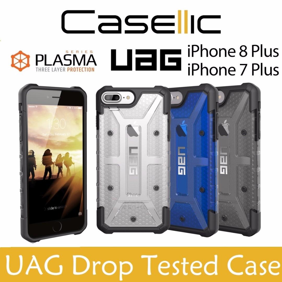 762ae95d739 UAG Plasma iPhone 8 Plus/7 Plus/ 6s Plus Drop Tested Case, Mobile ...