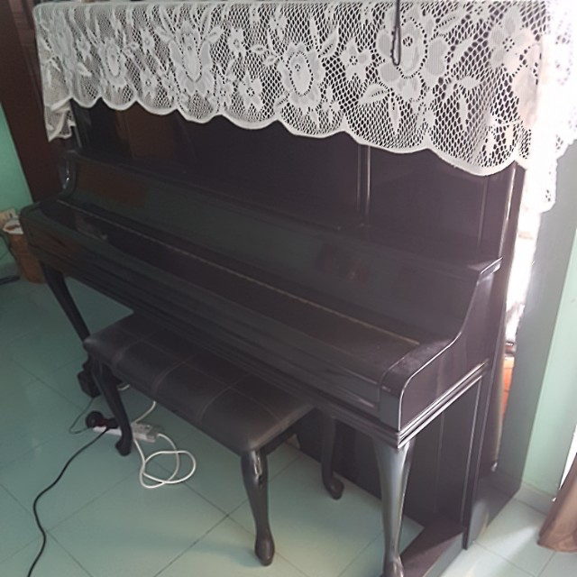 Used CHRISOFORI piano with built-in heater for sale.