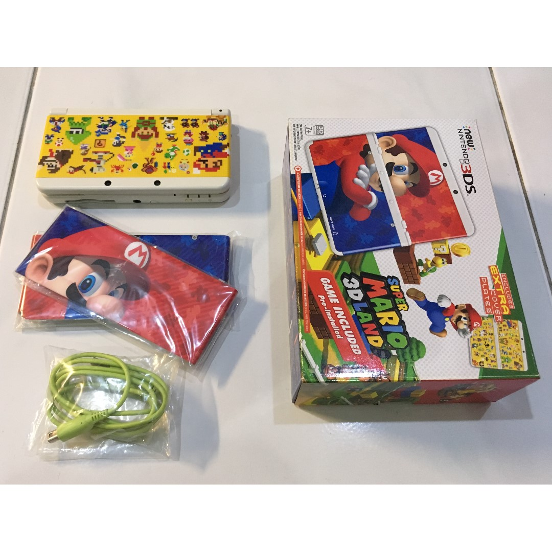 Used N3DS Super Mario 3D Land Limited Edition (free modding)
