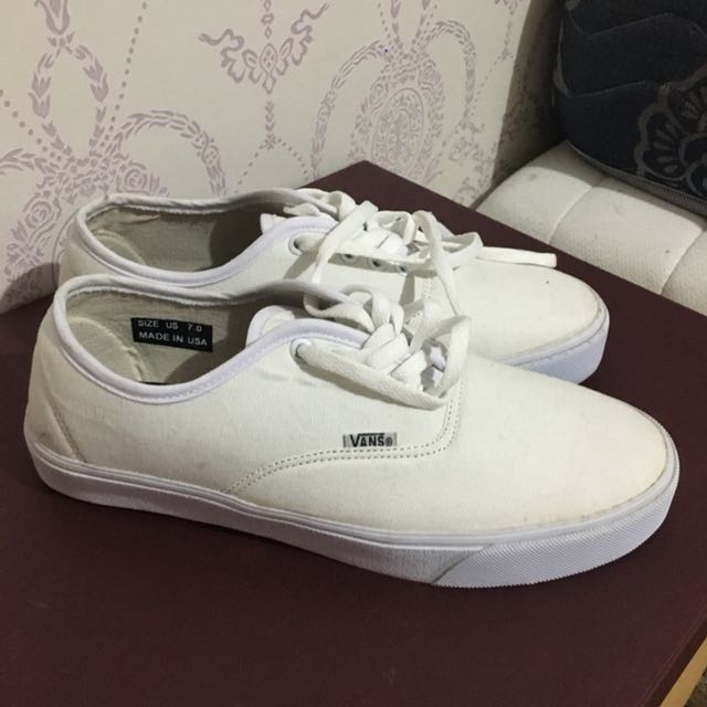 0712ec58b4 Vans all white (premium quality)