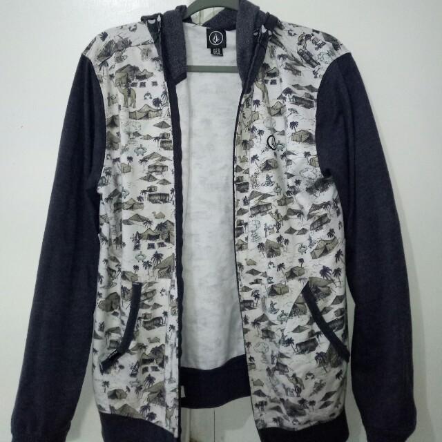 Volcom hooded mask jacket