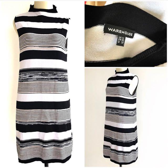 Warehouse Knit Dress