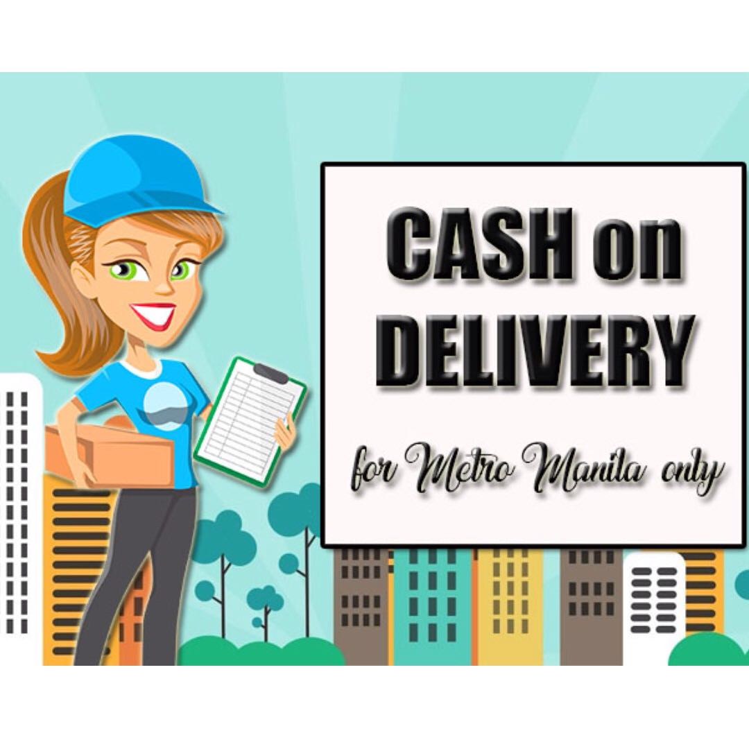 We now have Cash on Delivery