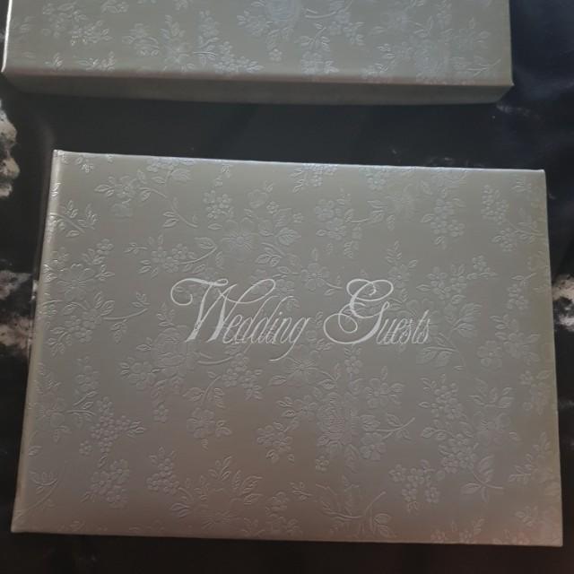 Wedding Guest Book BRAND NEW