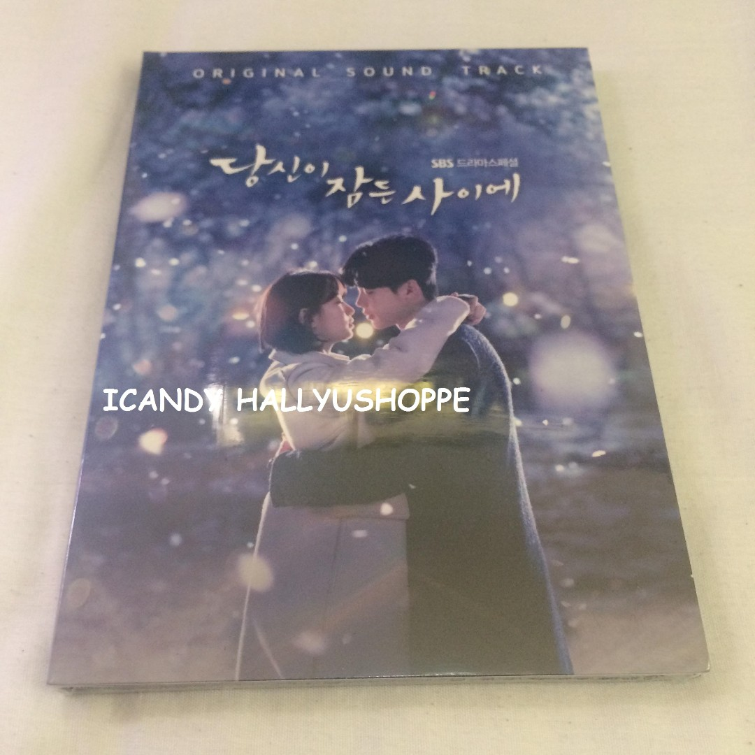 WHILE YOU WERE SLEEPING O.S.T first press with poster