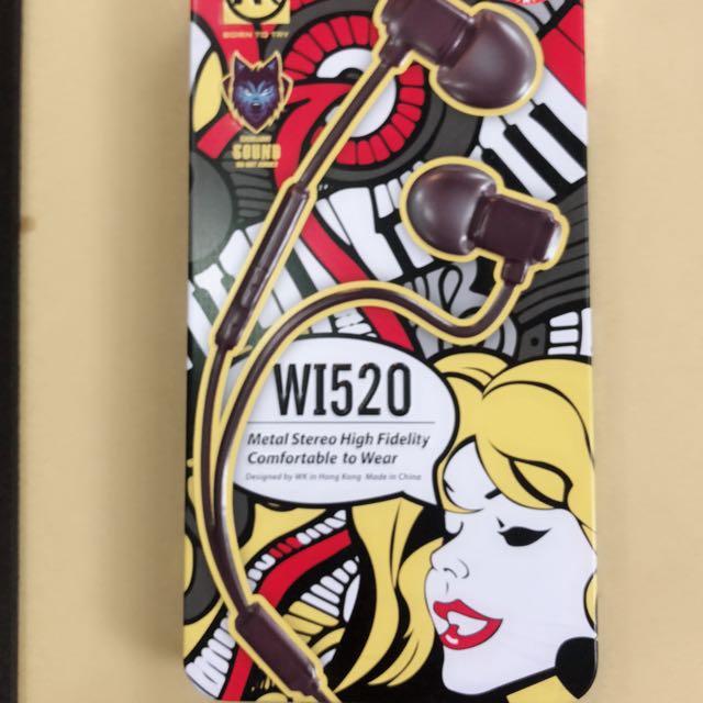WI520有線耳機
