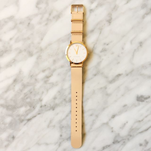 Winston Time Unisex Rose Gold watch With FREE strap