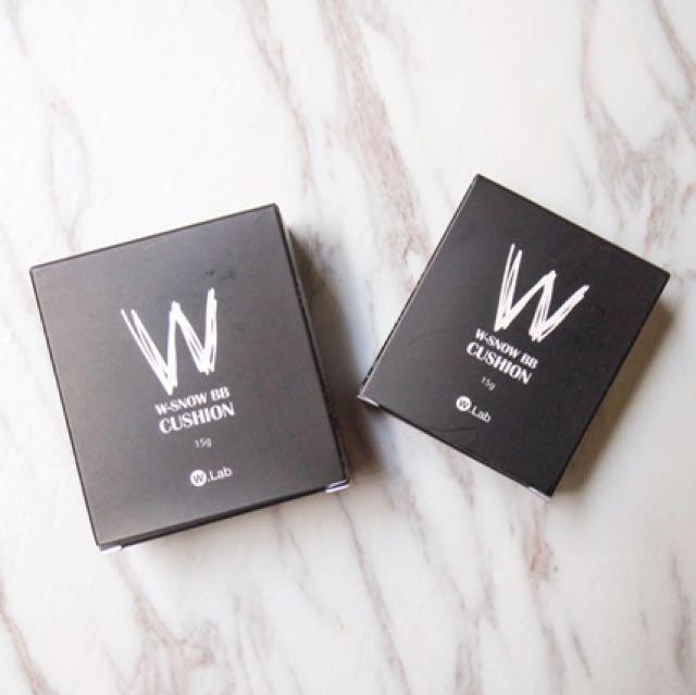 W.Lab雪霧氣墊粉餅+補充包
