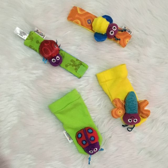 Wrist and Foot Rattle