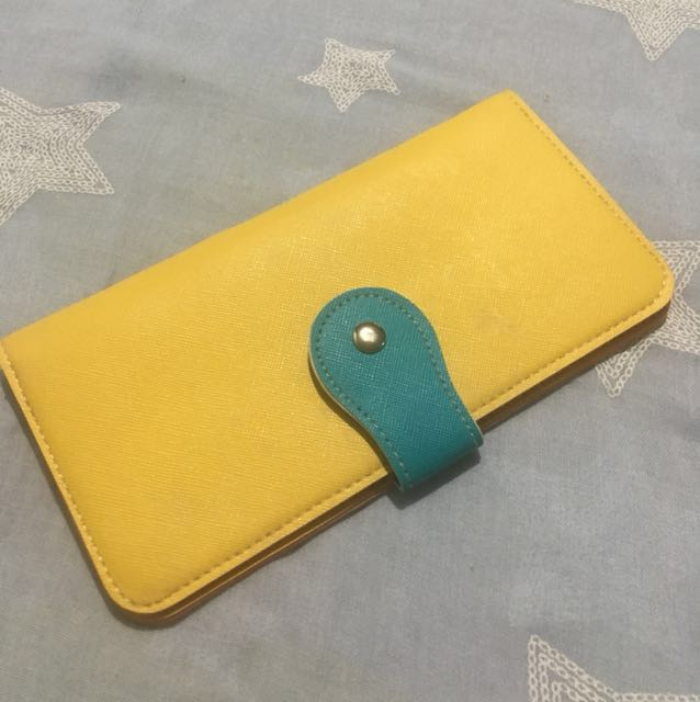 Yellow Long but Thin Wallet