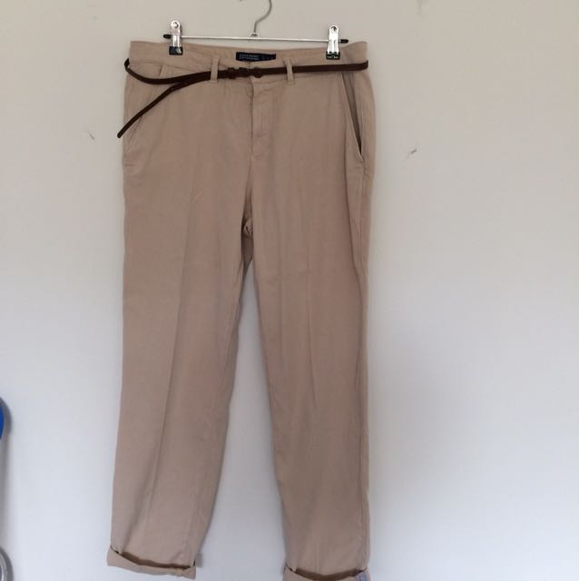 Zara chino style trousers