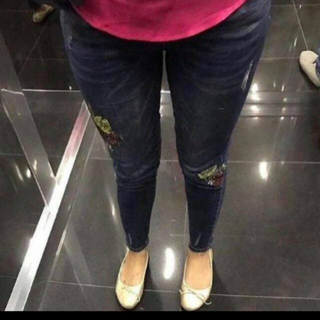 Zara Look A Like Jeans