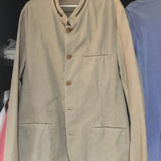 Zara safari cotton blazer