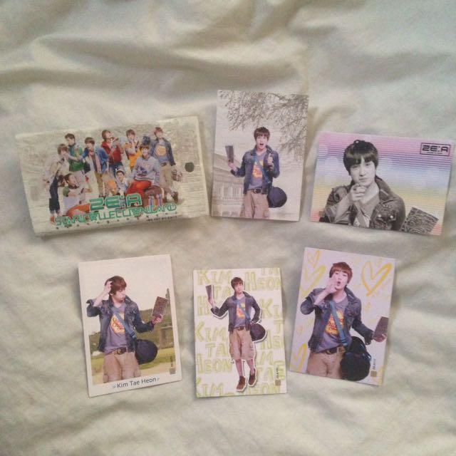 ZE:A - Star Collection Card - official goods -  Taehoon
