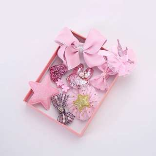 Korean hair accessories-Pink/韩国女童可爱淑女型发饰