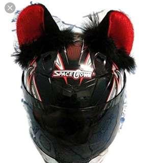 Cat Ears For Helmet