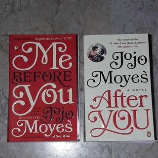 Me Before you and After you books