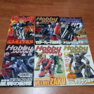 [WTS] Hobby Japan & Hobby Dengeki Magazines
