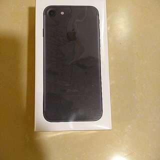 全新 黑色iphone 7 128GB 未開封 行貨