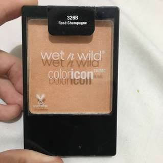 Wet n wild coloricon blush in Rose Champagne
