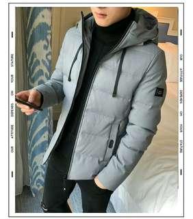 🚚 【現貨出清】短款棉襖韓版羽絨夾棉加厚外套