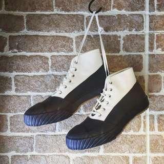 高統帆布膠鞋