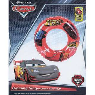 Disney Cars Inflatable 60cm Swimming Ring Float
