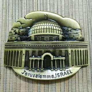 Magnet Kulkas Besi Jerusalem