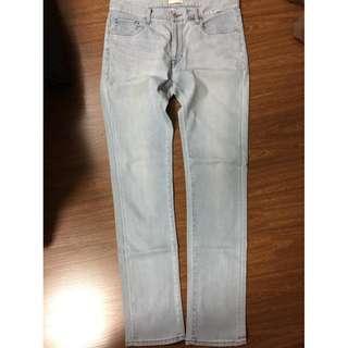 Uniqlo mens pants jeans maong slim fit 33