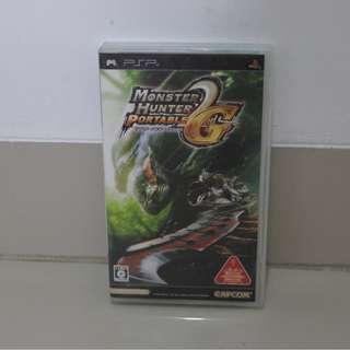 UMD Sony PSP Monster Hunter Portable 2nd Gen
