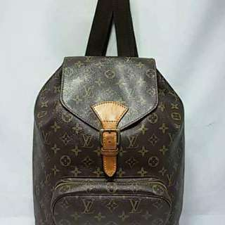 LV Backpack GM with Code