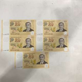 Notes - S$20
